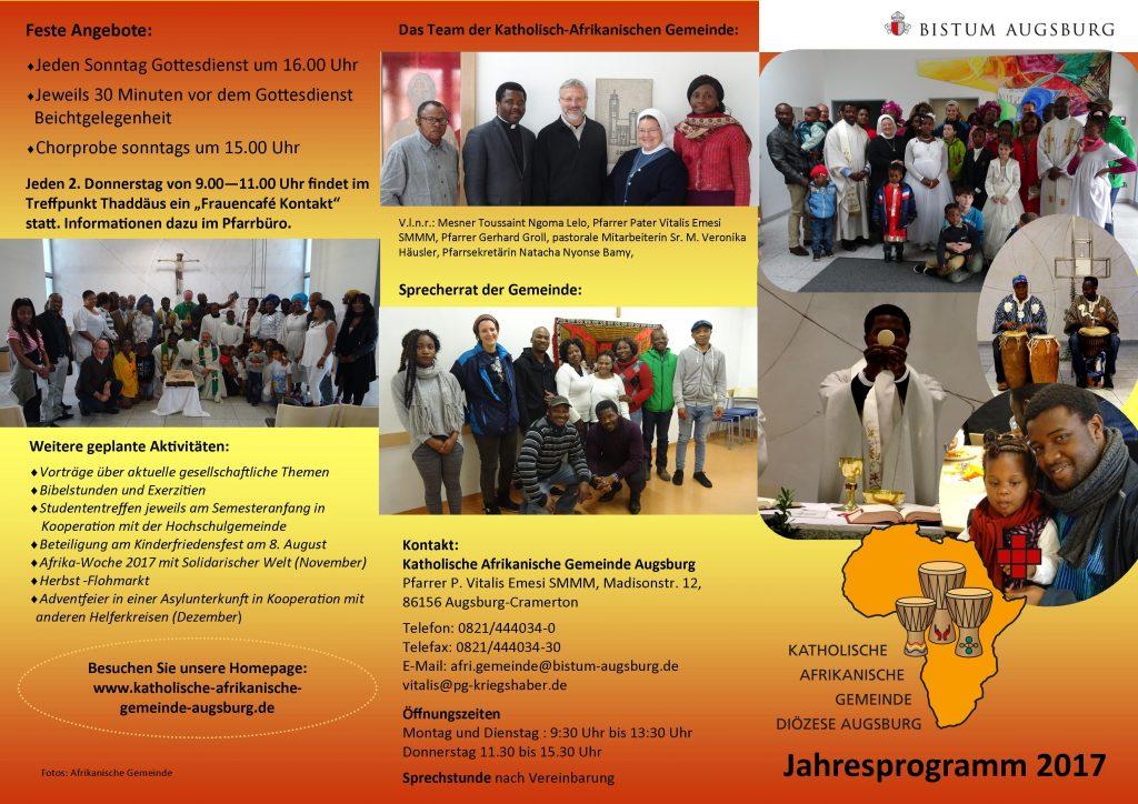 Programm Afrikanische Gemeinde deutsch 2017 I