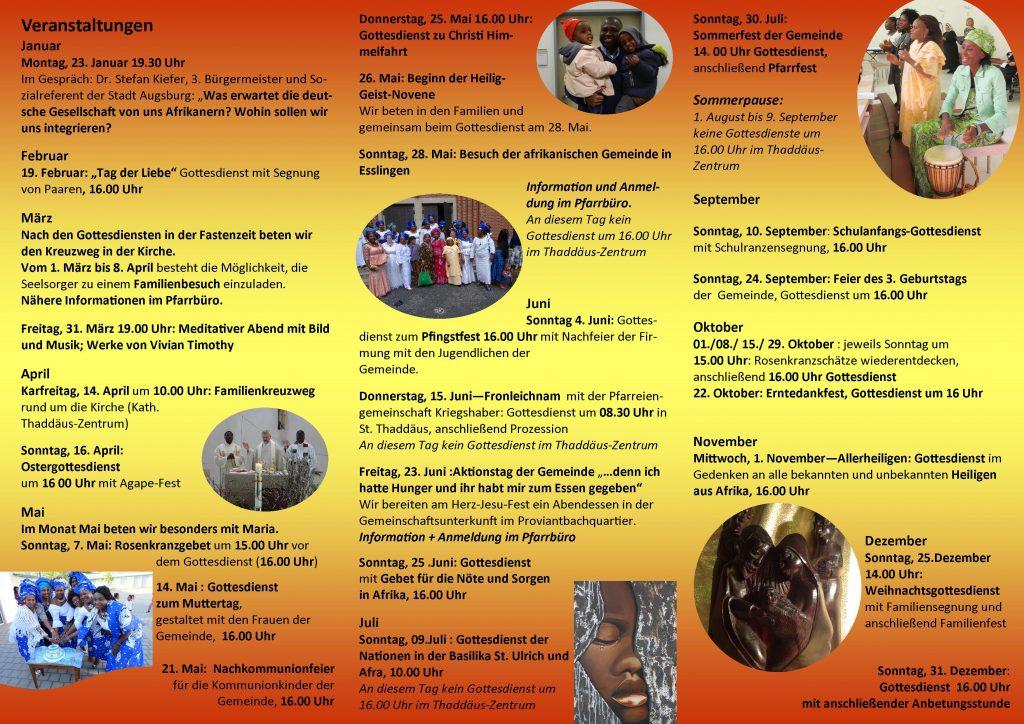 Programm Afrikanische Gemeinde deutsch 2017 II