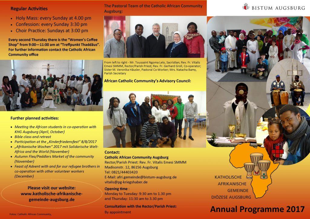 Programm Afrikanische Gemeinde -englisch 2017 I