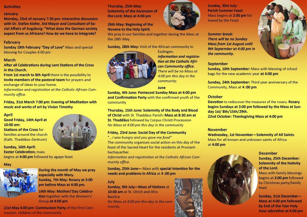 Programm Afrikanische Gemeinde -englisch 2017 II