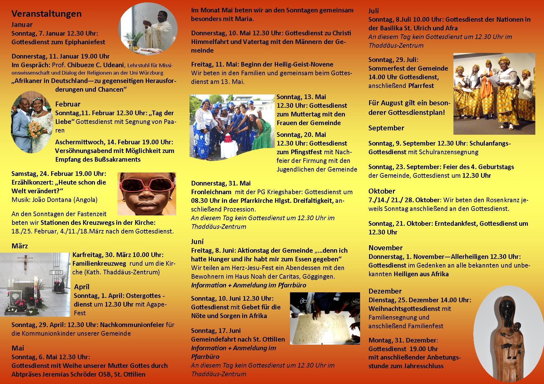 Programm Afrikanische Gemeinde deutsch 22018