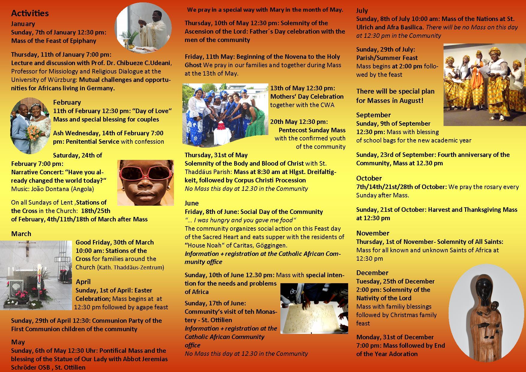 Programm Afrikanische Gemeinde English 2018.III